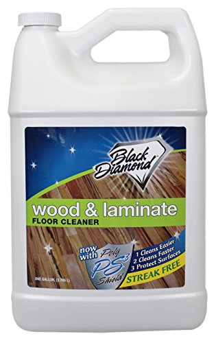 Black Diamond Wood & Laminate Floor Cleaner 1-Gallon: For Hardwood, Real, Natural & Engineered Flooring -Biodegradable Safe for Cleaning All Floors (Black Woods compare prices)