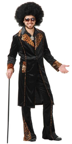 Charades Cat Man Do Pimp Daddy Adult Costume