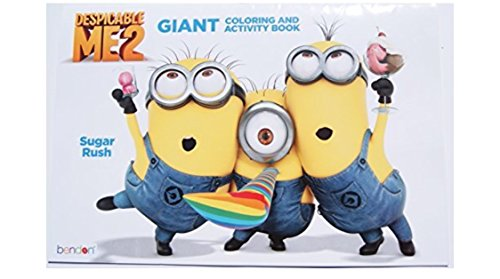 NEW Despicable Me 2 - Giant Coloring and Activity Book - 1