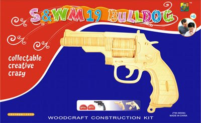 Cheap China Towins Gifts & Toys 3d Wooden Puzzle-s&w M19 Bulldog (B003F3D0HE)