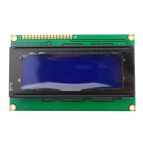 20 X 4 Lcd Display Module, Blue White Backlight, 5V
