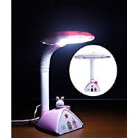 NOVICZ Electric Home Decorative Modern LED Table Study Lamp - Night Reading Light - Desk Lamp For Bedroom Living...
