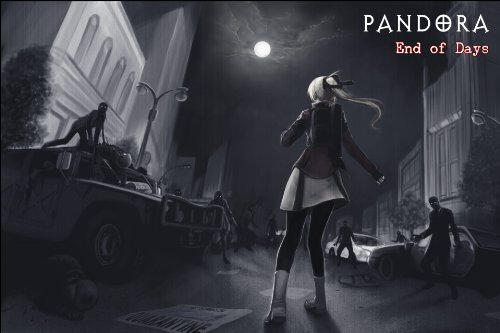 PANDORA: End of Days (Full Volume 1) [Paranormal / Survival Horror / Zombie] Manga Comic Book Graphic Novel