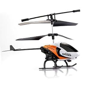 3.5CH Channel Helicopter Gyro IR RC Radio Remote Control Children Orange