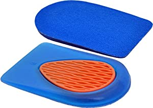 Medipaq® Soft Gel Heel Support Pads (2 x PAIRS) - Walk More Comfortably, All Day Long! Instant Pain Relief for Tired Feet and Damaged Heels.