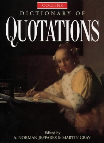 Collins Dictionary of Quotations PDF
