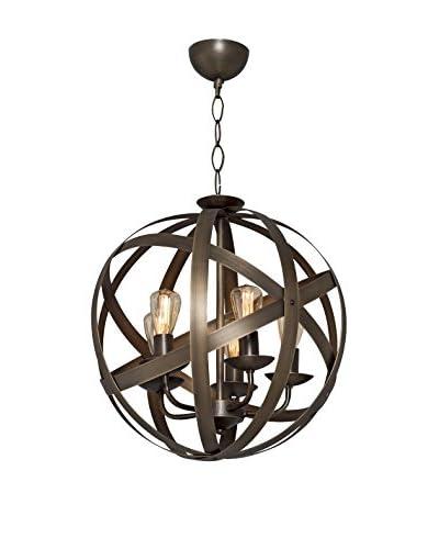 Light&Design Lámpara De Suspensión Metal Brown