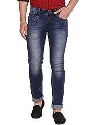 Allen Mens Cotton Jeans(Allen Blue2_Blue)