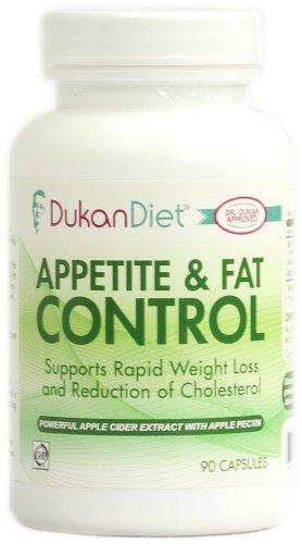 L'appétit de régime Dukan et Fat Control - 90