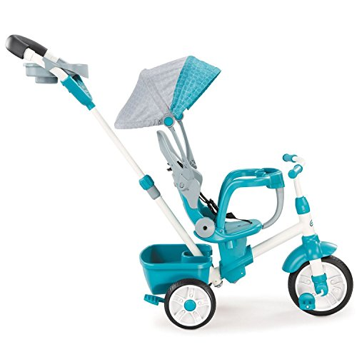 Why Should You Buy Little Tikes Perfect Fit 4-in-1 Trike, Teal