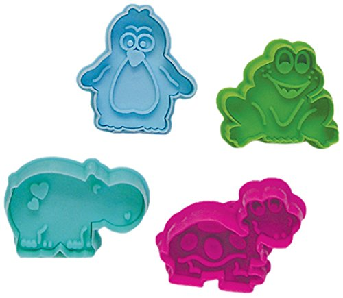 """R & M International 489 Pastry/Cookie/Fondant Stamper, 3-Inch, Animal Collection """"B"""""""