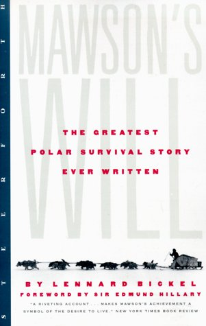Image for Mawsons Will : The Greatest Polar Survival Story Ever Written
