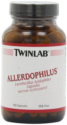 Twinlab Allerdophilus, Milk Free, 100 Capsules