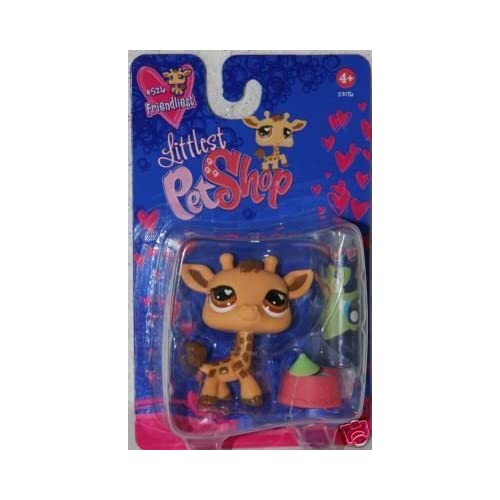 Littlest Pet Shop Exclusive Figure Giraffe [Geoffrey] Valentine's Day Package by Hasbro