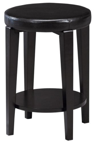 Cheap End Table With Reversible Leather Top (B000GHAEX0)