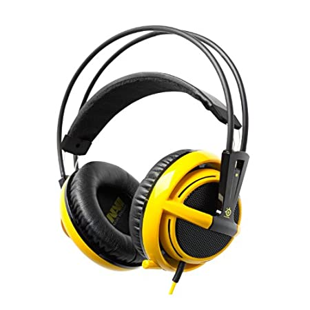 SteelSeries Siberia V2 Navi Full-Size Gaming Headset (Yellow)