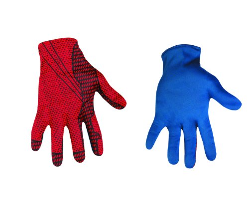 Disguise Marvel The Amazing Spider-Man 3D Movie Adult Gloves Costume Accessory