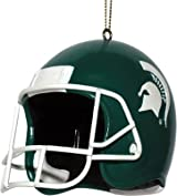 3 Helmet Ornament-Michigan St
