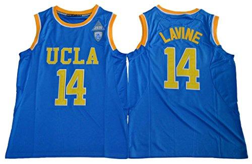 UCLA Bruins Zach LaVine 14 College Basketball Mens Blue Jersey M