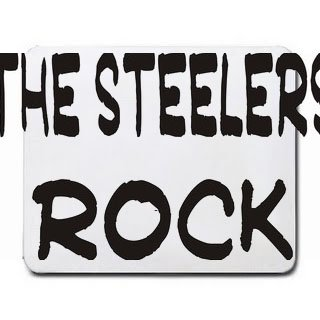 The Steelers Rock Mousepad