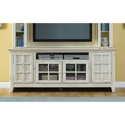 Cheap Liberty Furniture New Generation Transitional TV Stand in Vintage White (840-TV00)