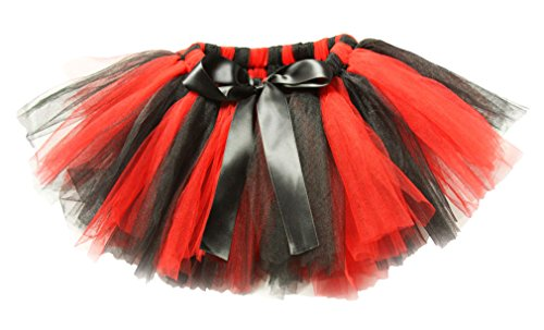 Wholesale Princess Red and Black Fluffy Tutu
