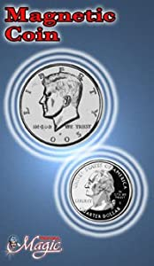 Magnetic Half Dollar From Royal Magic - Perfect for Ditching, Switching, Vanishing and Stealing Coins.