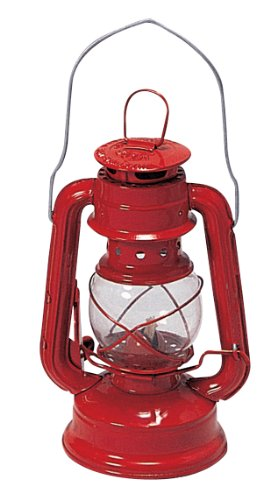Stansport Small Hurricane Lantern (Red, 8-Inch) (Camping Lantern Kerosene compare prices)