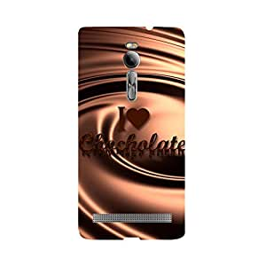 Skintice Designer Back Cover with direct 3D sublimation printing for Asus Zenfone 2 ZE551ML