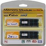 シー・エフ・デー販売 メモリ ノートPC用 DDR3 SO-DIMM PC3-8500 CL7 256x8Mbit 4GB 2枚組 W3N1066Q-4G