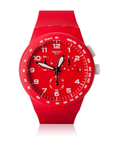 Swatch Quarzuhr Unisex RED SHADOW SUSR400 42 mm