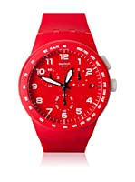 Swatch Reloj de cuarzo Unisex RED SHADOW SUSR400 42 mm