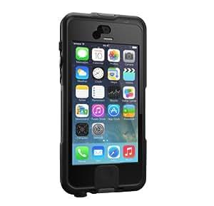 Lifedge Wasserfeste Stoßfeste Schutzhülle Case Cover für iPhone 5/5S Staubdicht und Wasserdicht gemäß Schutzart IP68  - Basalt Schwarz