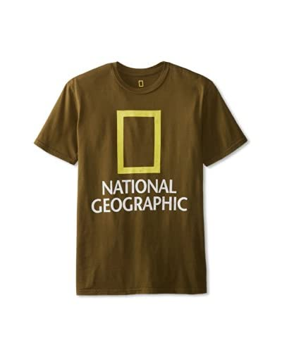 Chaser Men's National Geographic Crew Neck T-Shirt