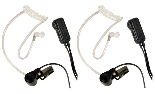 Midland AVPH3 Transparent Security Headsets