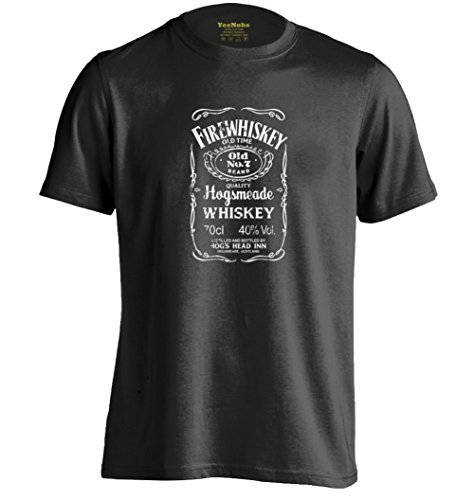 Hogsmeades Old No.7 Brand Firewhiskey Hogwarts Cool T Shirt Sex Si Tee