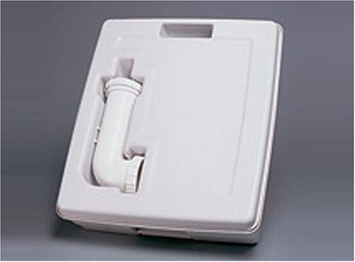 Disaster survival sanitation equipment for Deluxe portable bathrooms