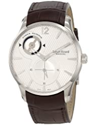 Louis Erard Men's 53209AS01.BDC27 1931 Brown Power Reserve Leather Watch