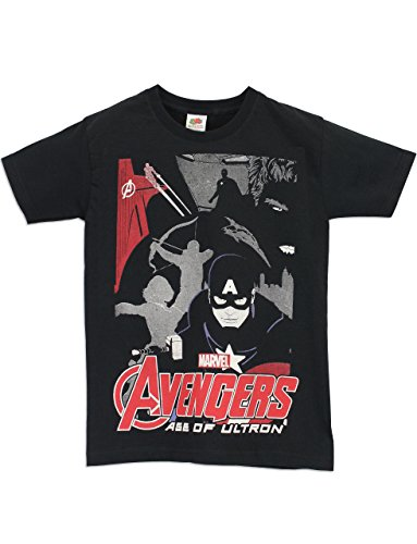 Character Boys' Avengers T-Shirt Age of Ultron