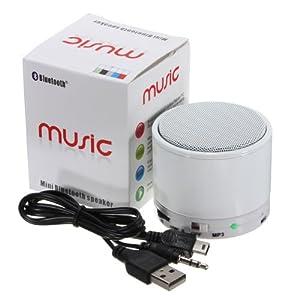Mini Metal Wireless Bluetooth Speakers Super Bass TF SD For iPhone 5 Samsung PC by GoodsGood Co., LTD