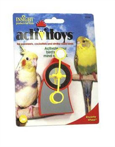 Cheap JW Pet Company Activitoy Roulette Wheel Small Bird Toy, Colors Vary (B000FHGN1I)