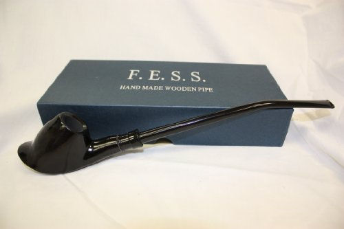 F.e.s.s. Calabash Dark Smooth Wooden Pipe
