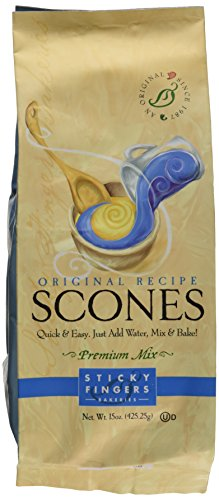Sticky Fingers English Scone Mix Original  16 OZ (Scones Mix compare prices)