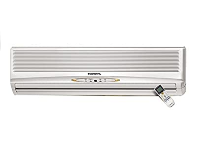 O General ASG30RBAJ-2.5 Hot and Cold Split AC (2.5 Ton, White)