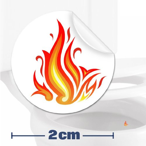 TOILET TRAINING AID For Children Toddlers Boys Funny Bathroom Restroom Potty Urinal Trainer 10 x FLAMES TARGET STICKERS (2cm)