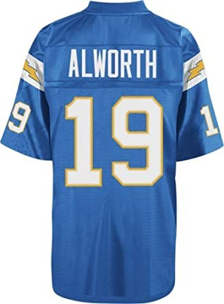 San Diego Chargers Mitchell & Ness 1963 Lance Alworth #19 Replica Throwback... by Mitchell & Ness