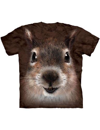 Cute Squirrel Face T-Shirt
