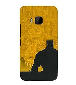 EPICCASE bat man Mobile Back Case Cover For HTC One M9 (Designer Case)