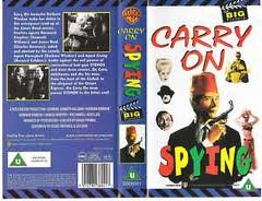 Carry on Spying [VHS] [Import]