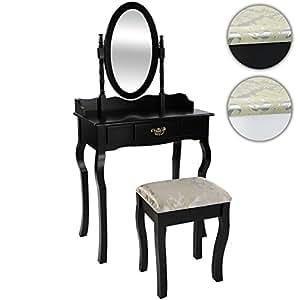 miadomodo schminktisch spiegeltisch frisierkommode frisiertisch kosmetiktisch sekret r. Black Bedroom Furniture Sets. Home Design Ideas